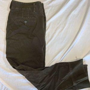 Loft Marissa Fit Casual Career Cropped Pants